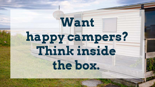 want happy campers